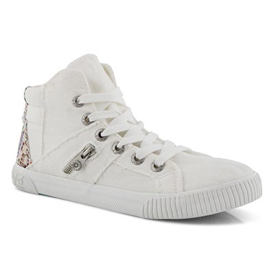 Lds Fruitcake white fashion sneaker