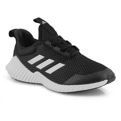 Chlds FortaRun K blk/wht sneaker