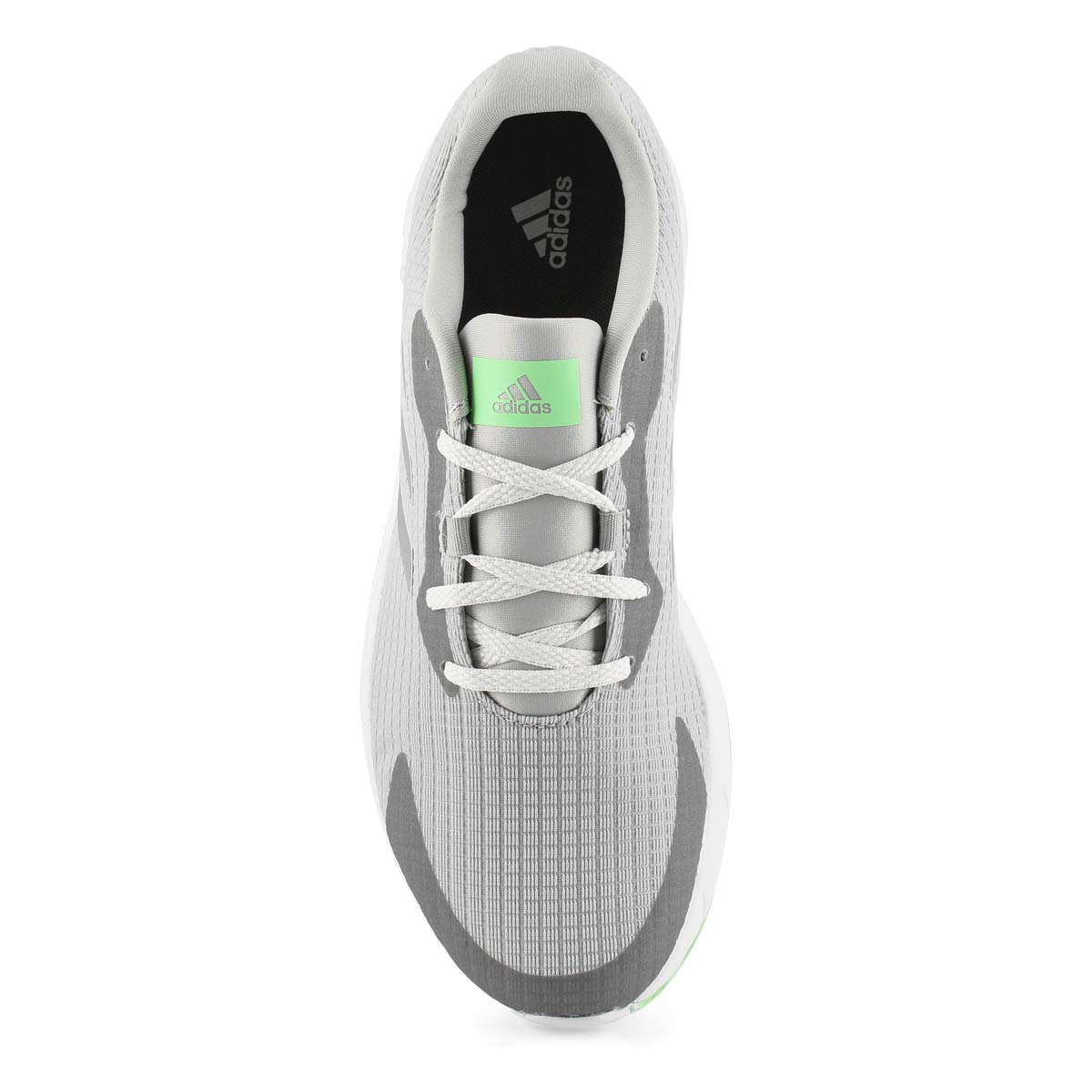 Lds Sooraj grey/silver lace up runner