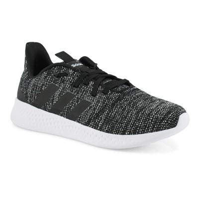 Lds Puremotion blk/wht running shoe