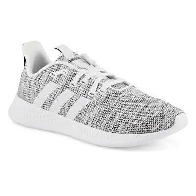 Lds Puremotion wht/wht running shoe