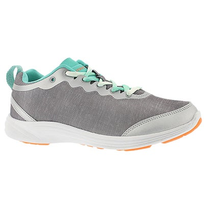 Vionic Women's FYN grey arch support running shoes