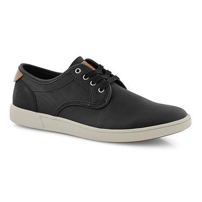 Mns Fynal black lace up fashion sneaker