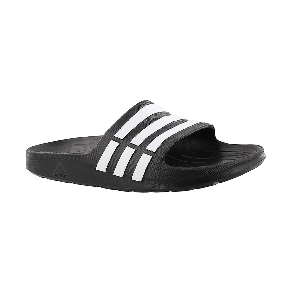 Kids' DURAMO SLIDE black sandals