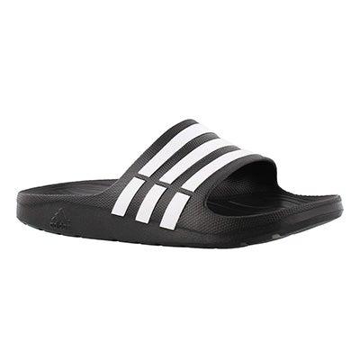 Adidas Men's DURAMO SLIDE black/white sandals