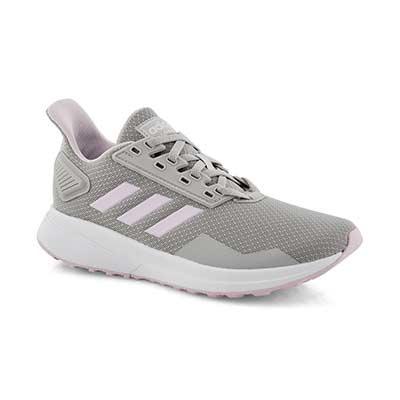 Girls' DURAMO 9 K grey /pink runners