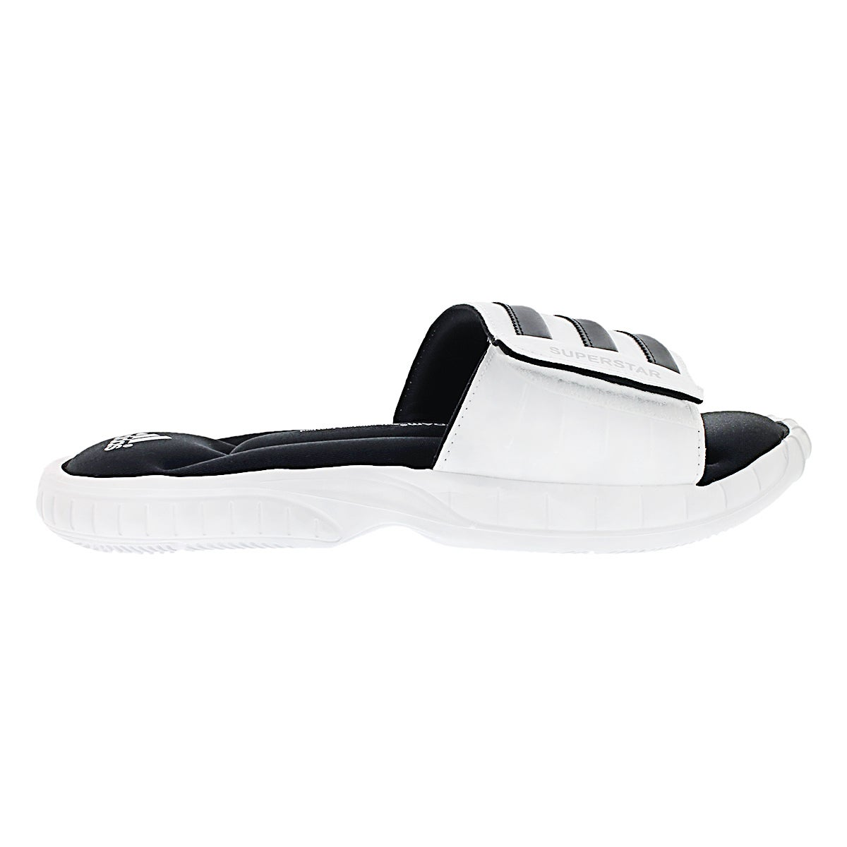 Mns Superstar 3G wht/blk/slv slide