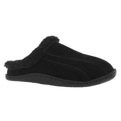 Lds Galaxie III bk/bk open back slipper