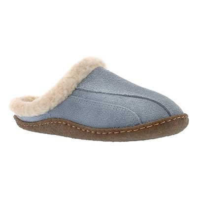 SoftMoc Women's GALAXIE III blue open back slippers