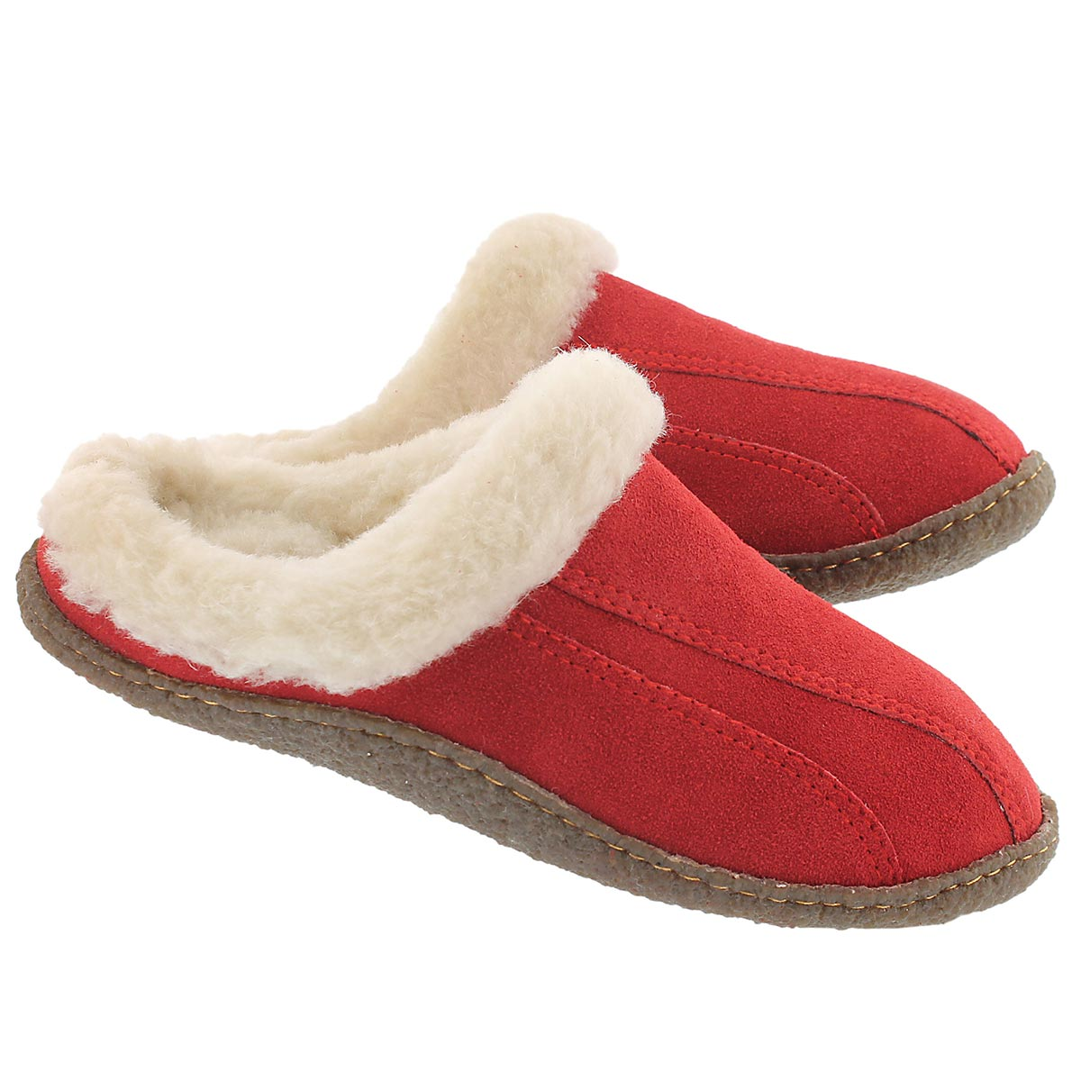 Lds Galaxie III red open back slipper