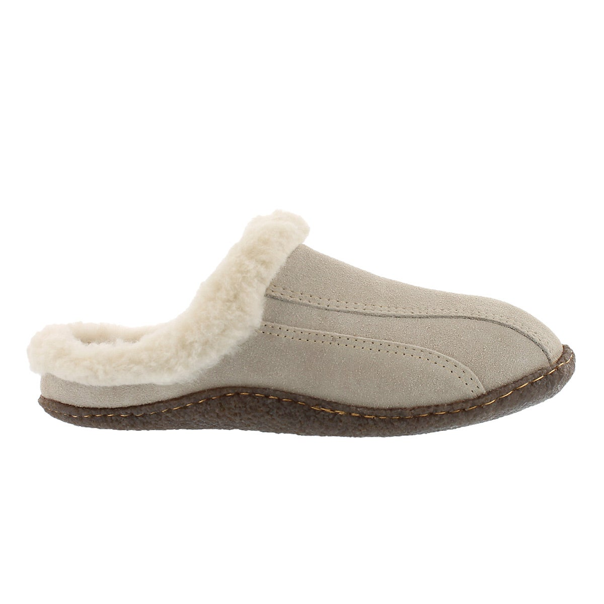 Lds Galaxie III sand open back slipper