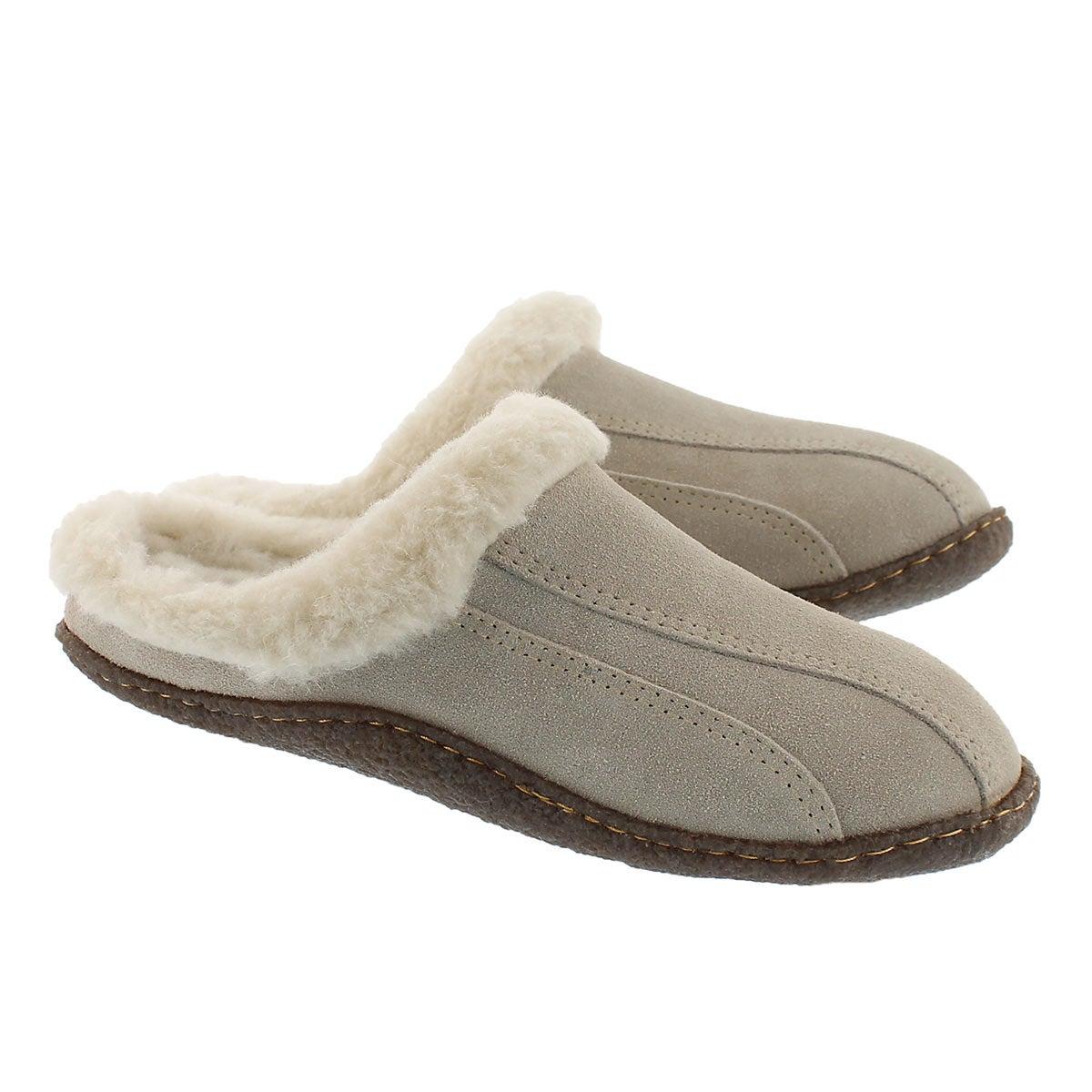 Lds Galaxie III sand open back slipper