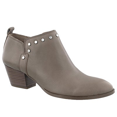 Lds Geneva taupe slip on ankle boot