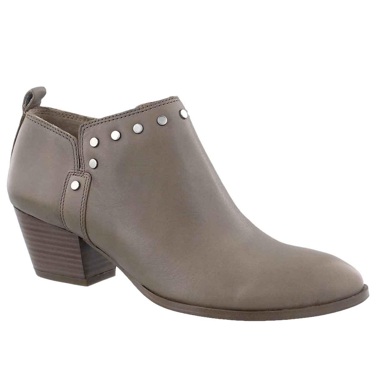Women's GENEVA taupe slip on ankle boots