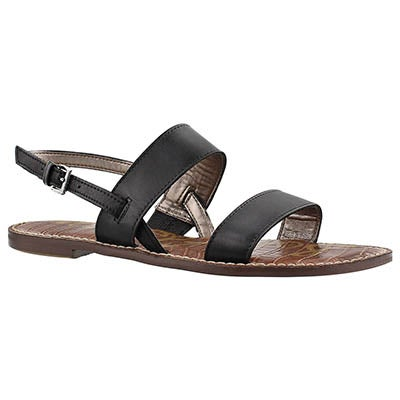 Sam Edelman Women's GEORGIANA black casual sandals
