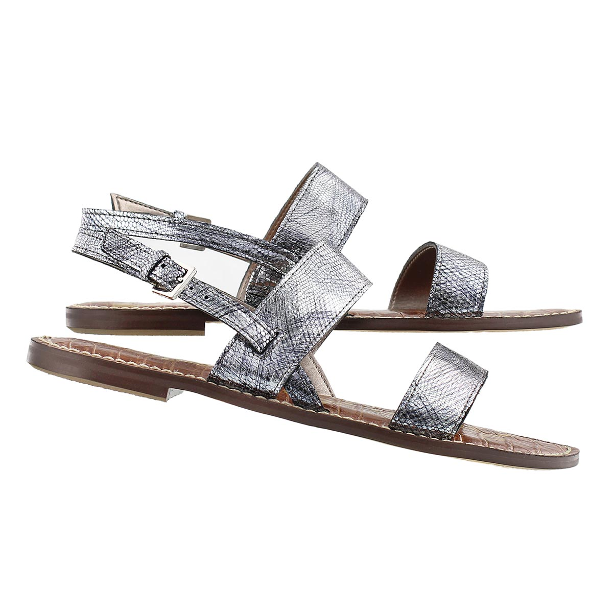 Lds Georgiana pewter casual sandal