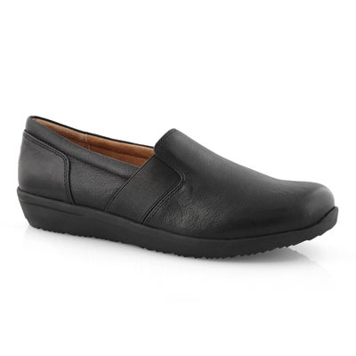 Lds Magnolia Gianna blk slip on loafer