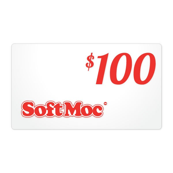 $100 SoftMoc Gift Card - Use Instore or Online