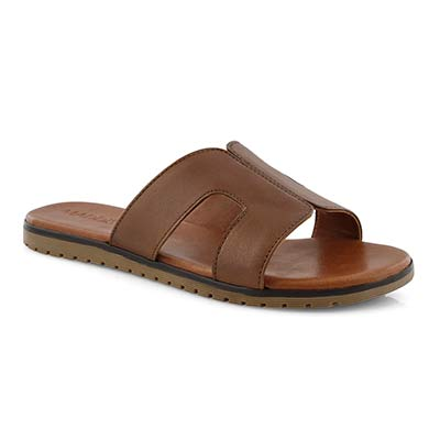 Lds Gillian tan slide sandal