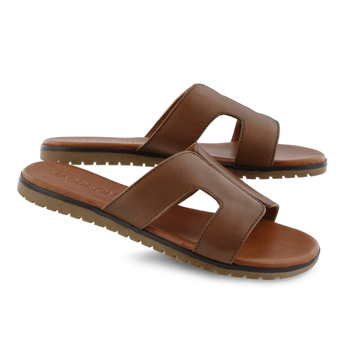 Lds Gillian tan slide sandal