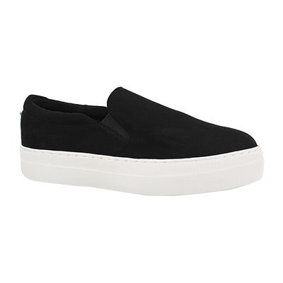 Lds Gills black casual slip on shoe