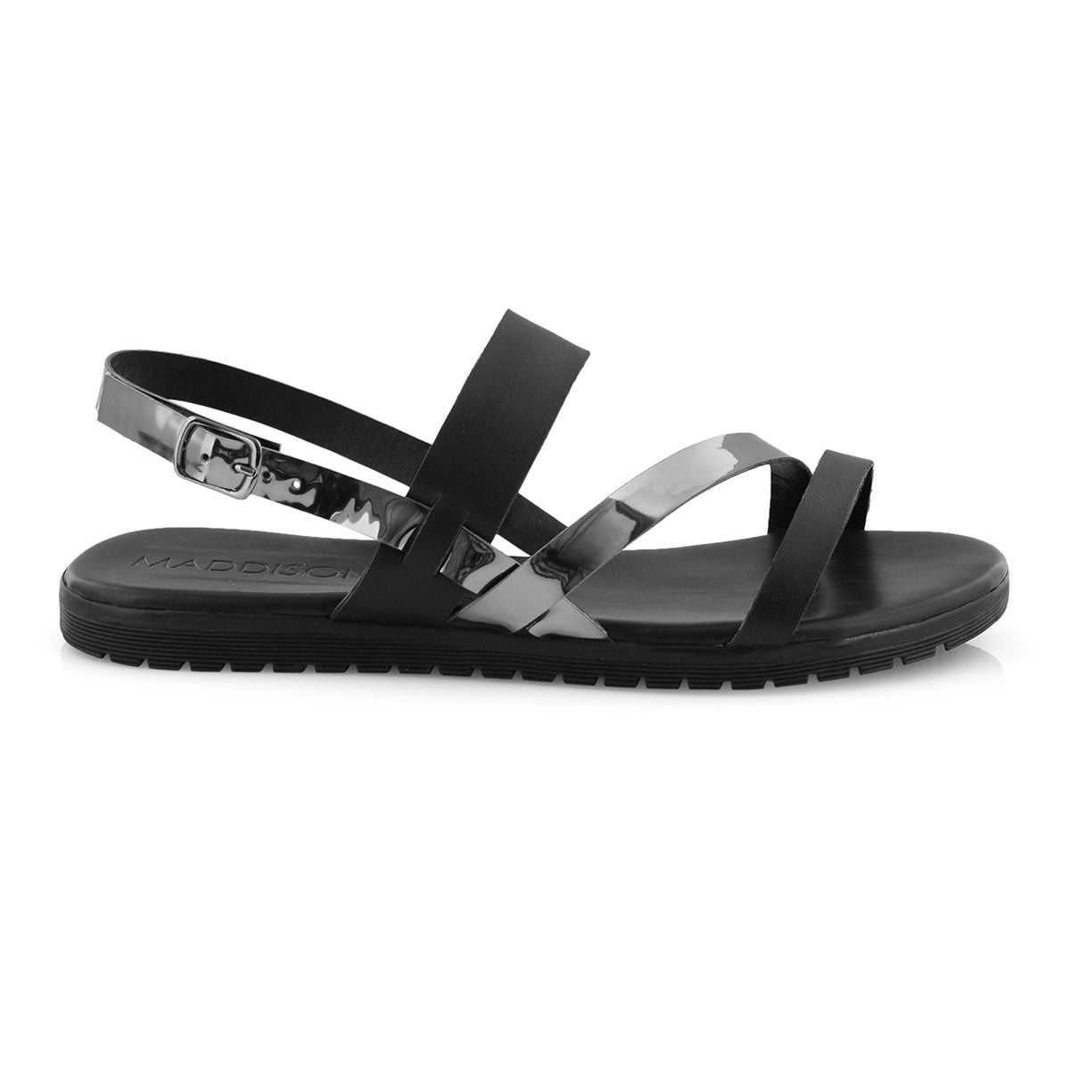 Lds Gita black/pewter casual sandal