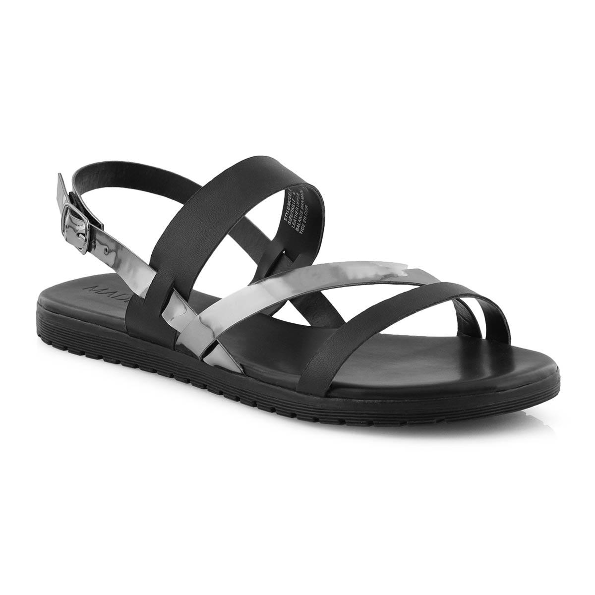 Lds Gita black/pewter casual sandal