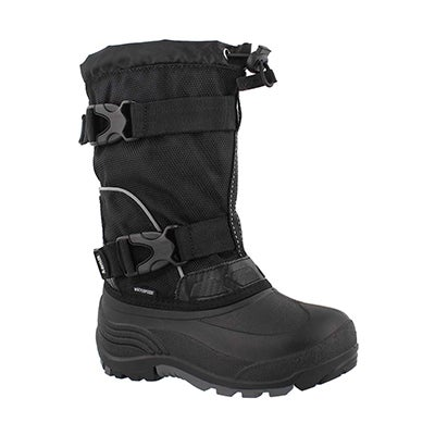 Bys Glacial black wtpf winter boot