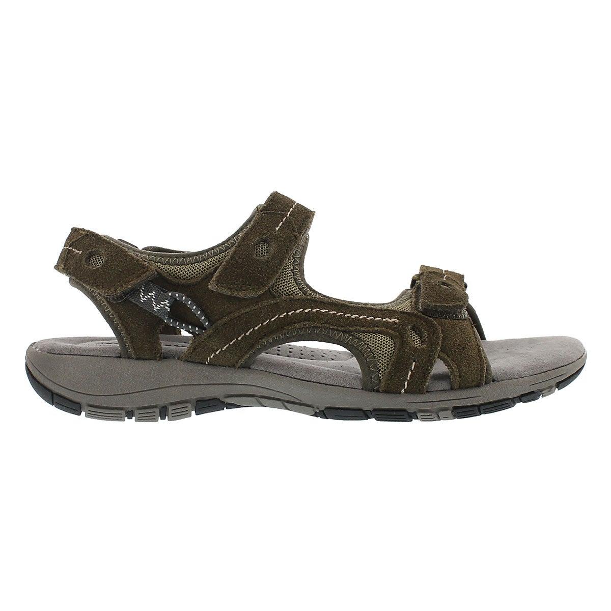 Lds Gladys kki 3-strap mem. foam sandal