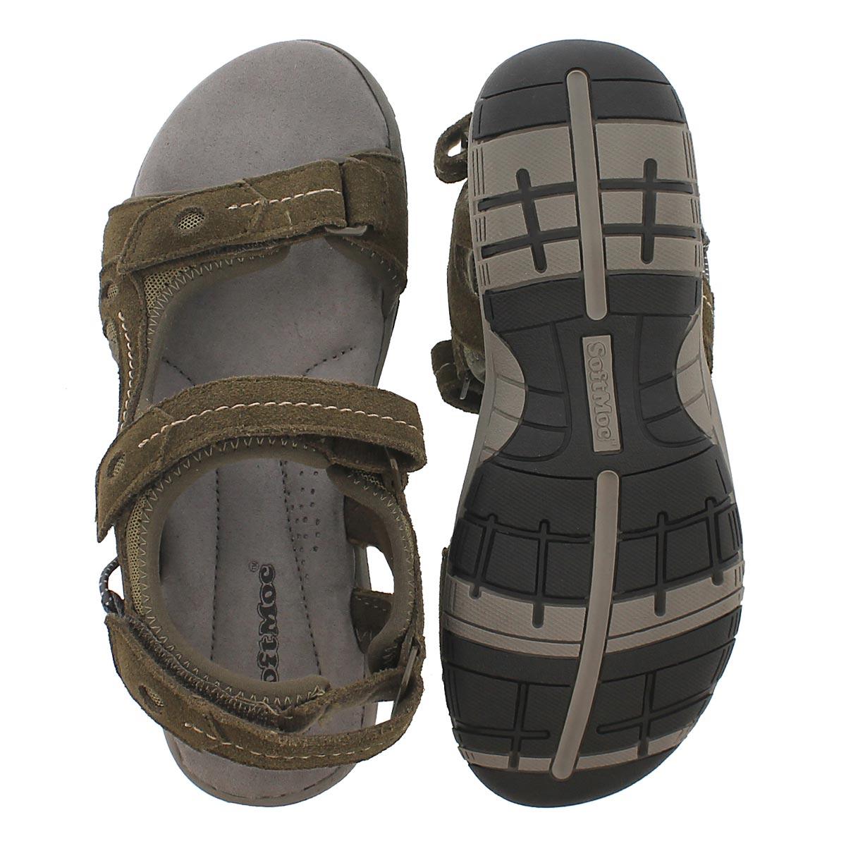 Sandale msse visc. Gladys, kaki, femmes