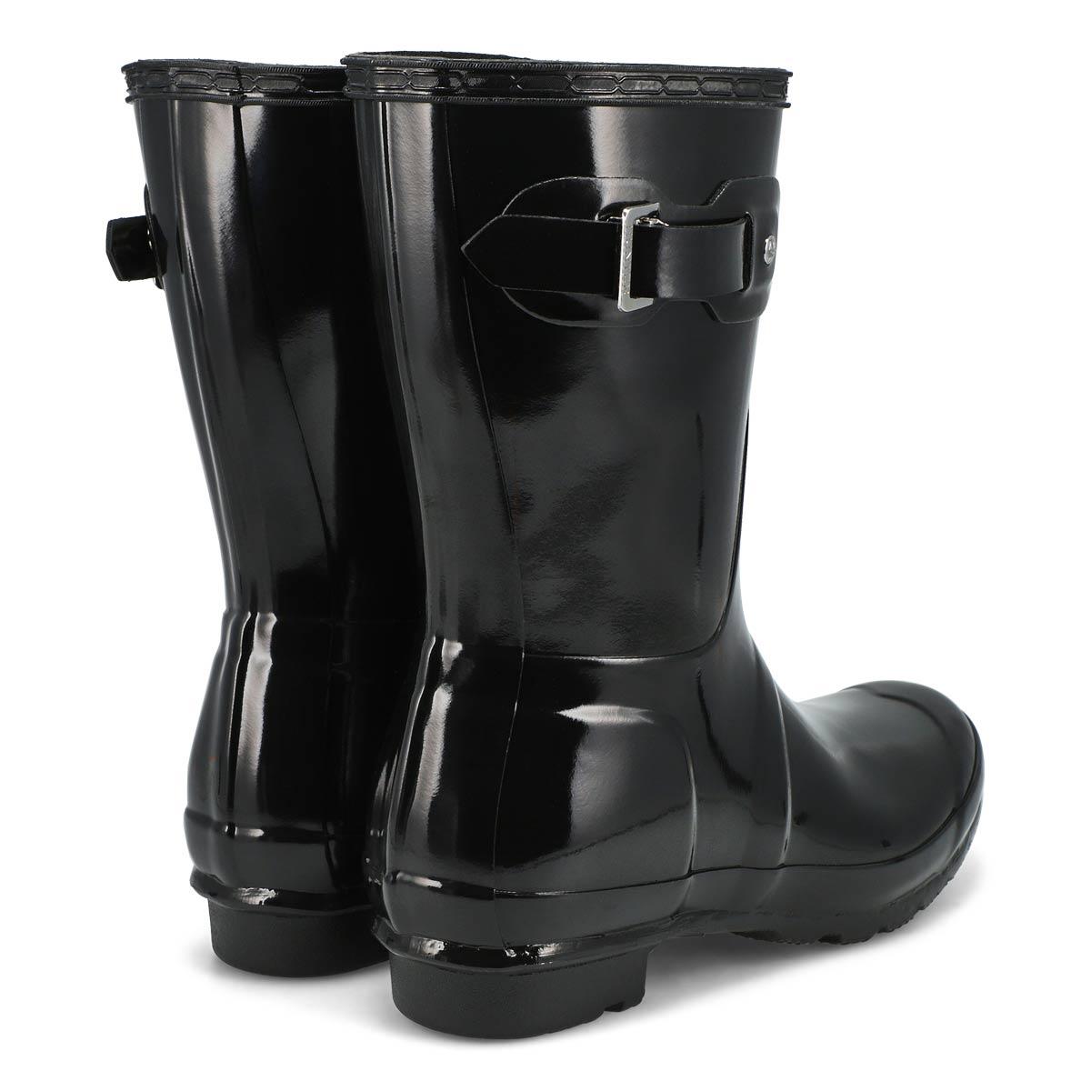 Lds Original Short Gloss blk rainboot