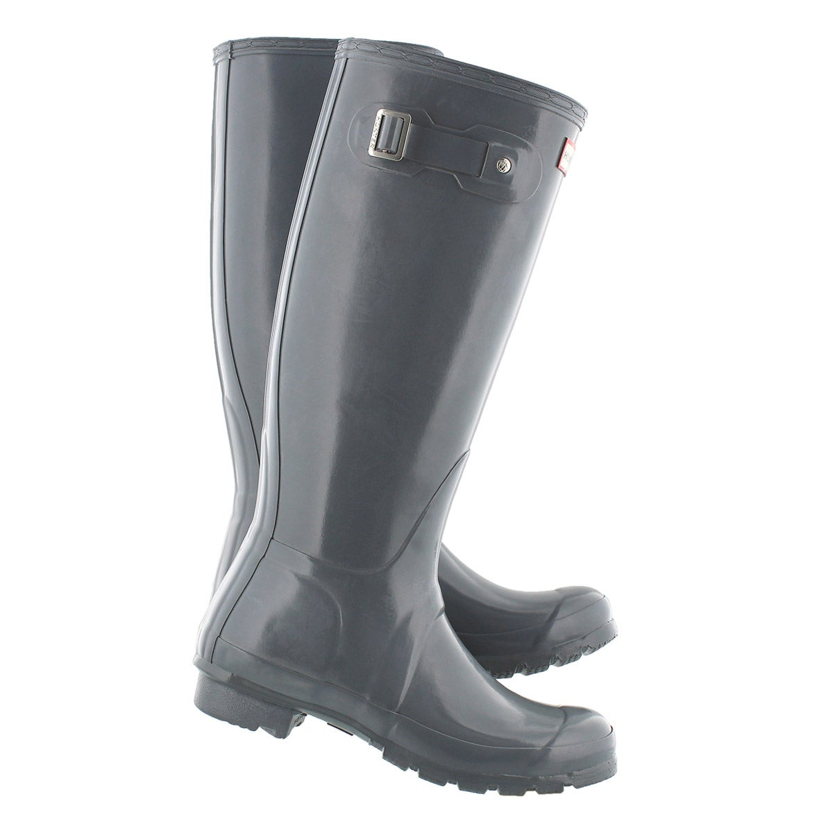 Lds Original Tall Gloss grey rain boot