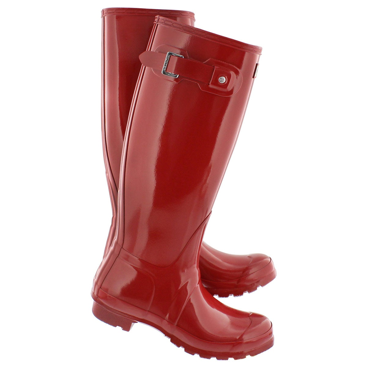 Lds Original Tall Gloss red rain boot
