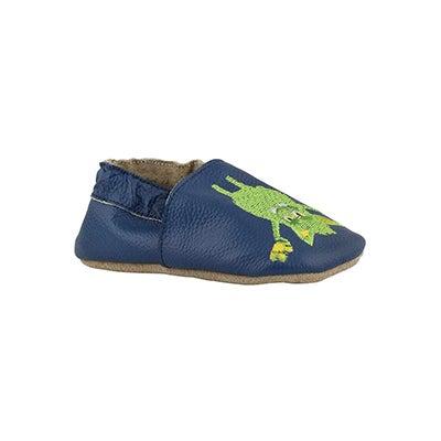 Infs-b Goblins navy slippers