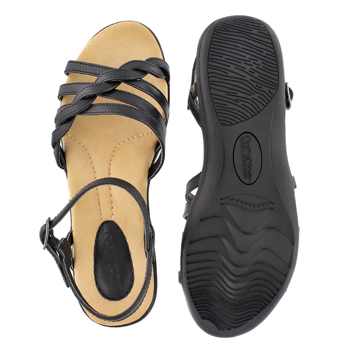 Sandale av mousse visc. GRACE, noir, fem