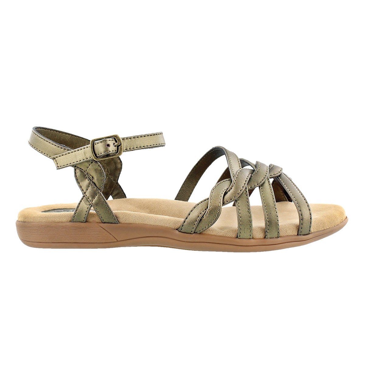 Sandale avec mousse visc. GRACE, or, fem