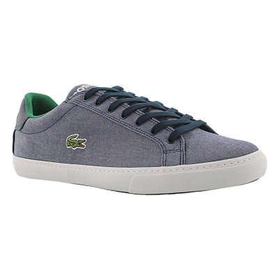 Lacoste Men's GRAD VULC navy canvas fashion sneakers