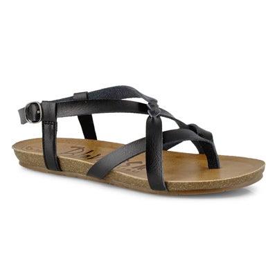 Lds Granola-B black casual sandal