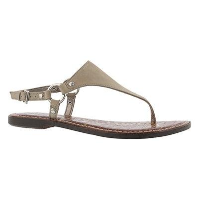 Lds Greta bistro casual thong sandal