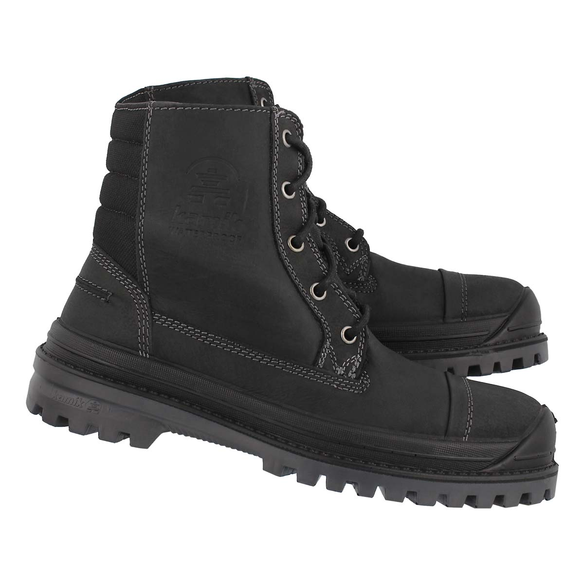 Mns Griffon black laceup wp winter boot