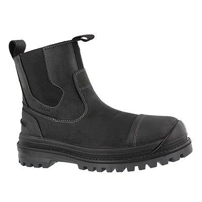 Mns GriffonC blk wp chelsea winter boot
