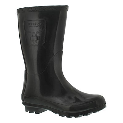 Superfit Kids' GRIMA black glossy rain boots