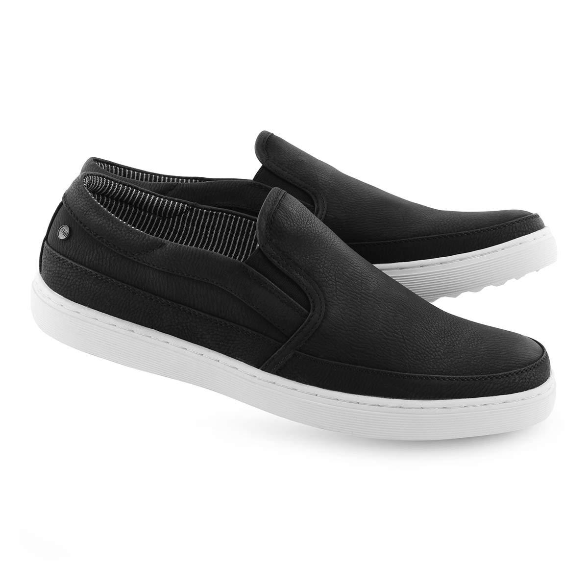 Mns Grissom black slip on casual loafer