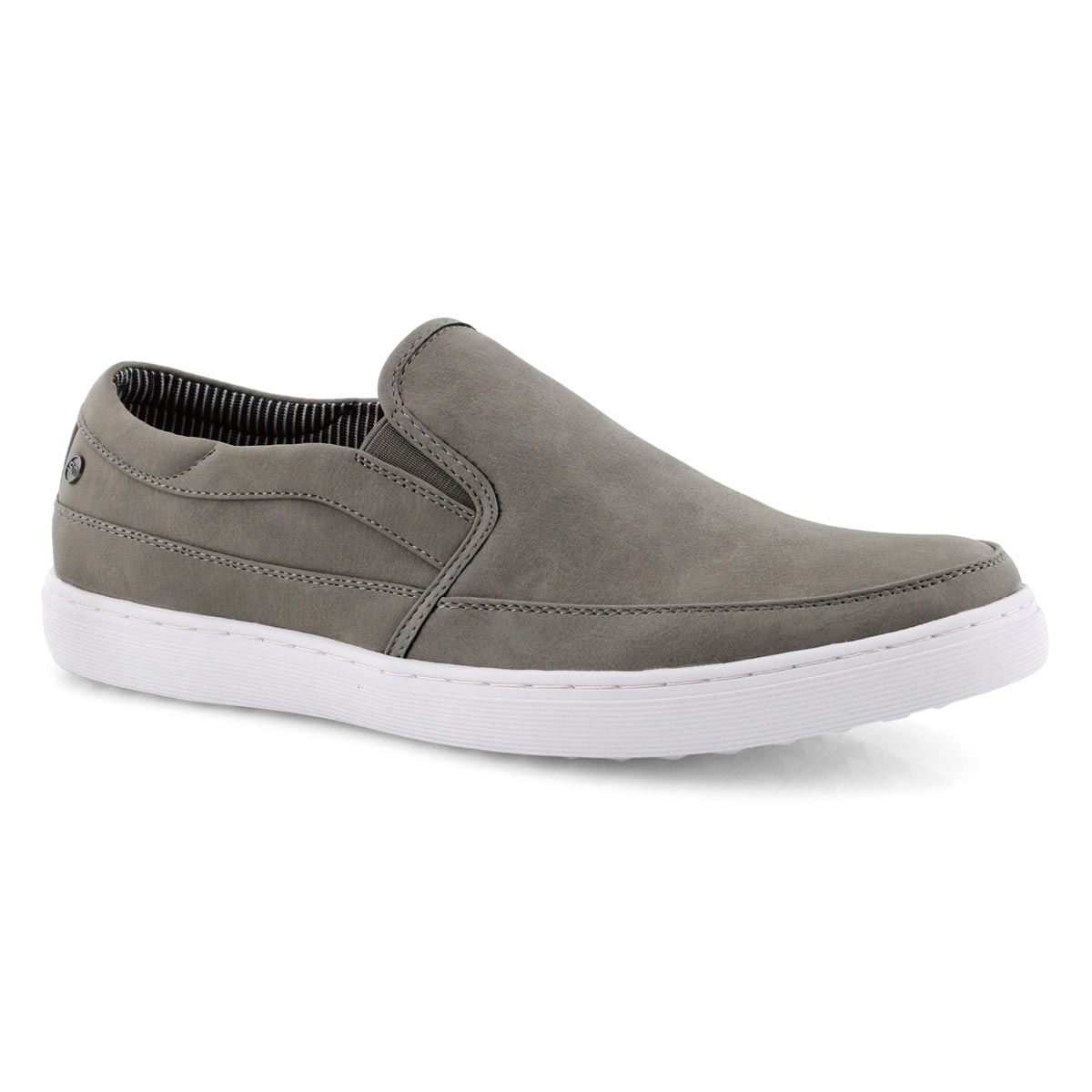 Mns Grissom grey slip on casual loafer