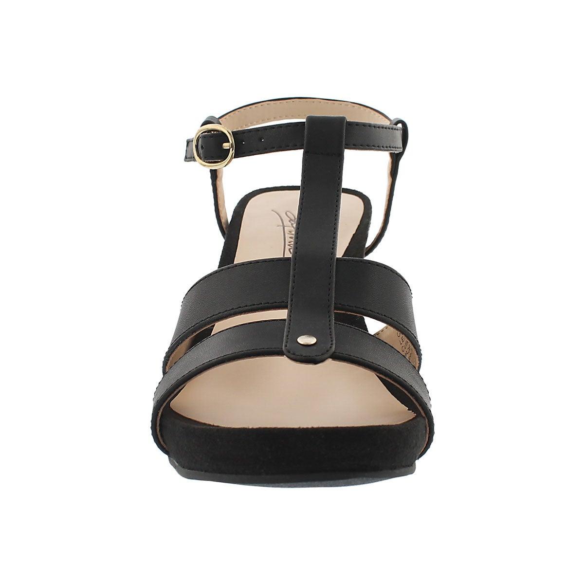 Sandale msse visc. GYPSY, noir, femmes
