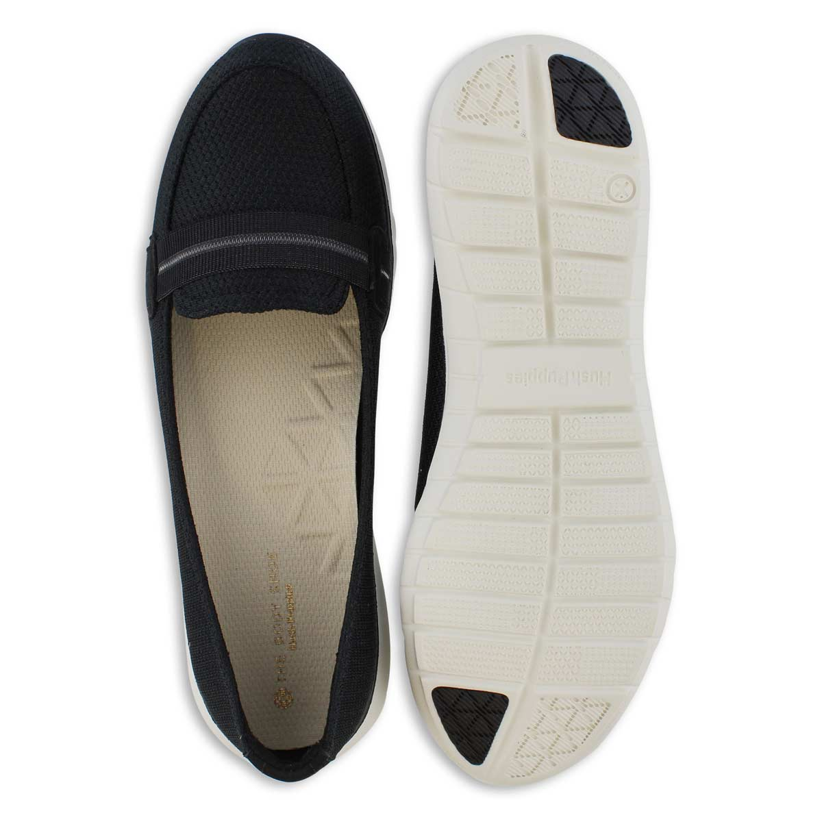 Lds Tricia Band black casual loafer