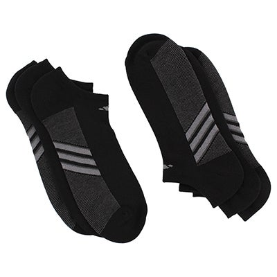 Adidas Men's Climacool Superlite black socks - 3 pk