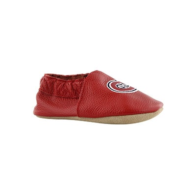 Infs-b Habs red slipper