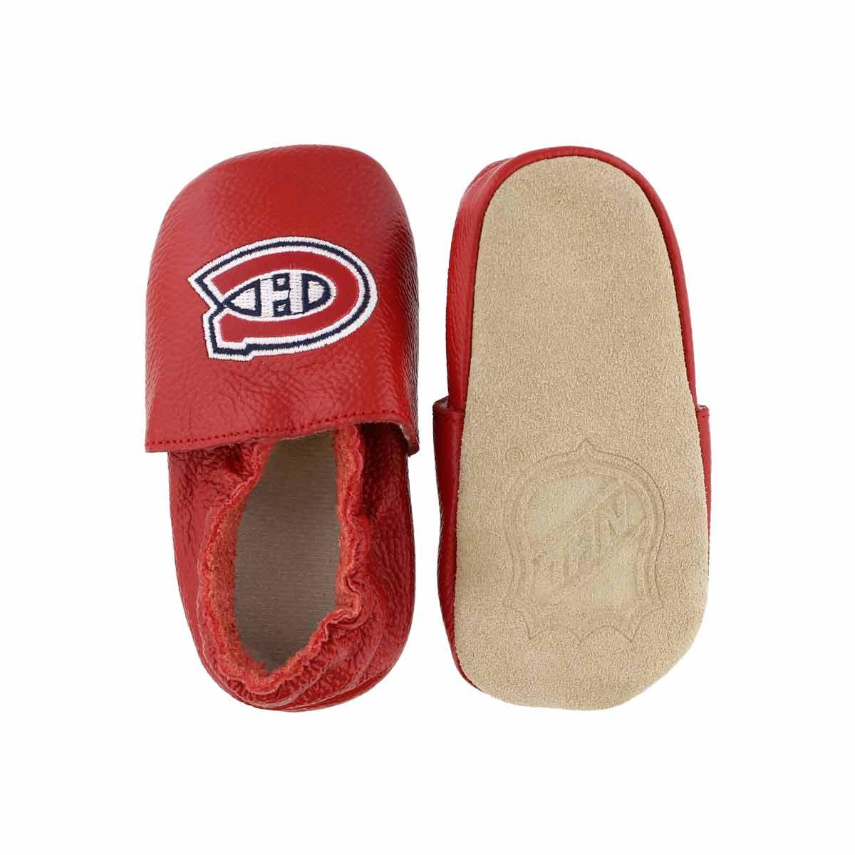 Infs-b Habs red slipper