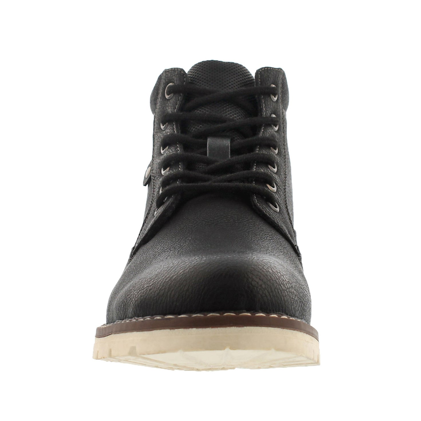 Mns Hallway black lace up ankle boot